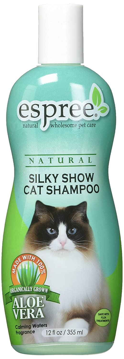 Espree Animal Products Silky Show Cat Shampoo, 12-Ounce (355 -Milliliter) NSSCS