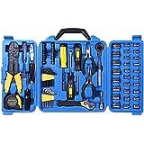 Cartman 122pcs Auto Tool Accessory Set Tool Kit Set Electric Tool Set Drive Socket and Socket Wrench Sets