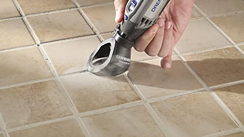 Remove Grout Using a Rotary Tool