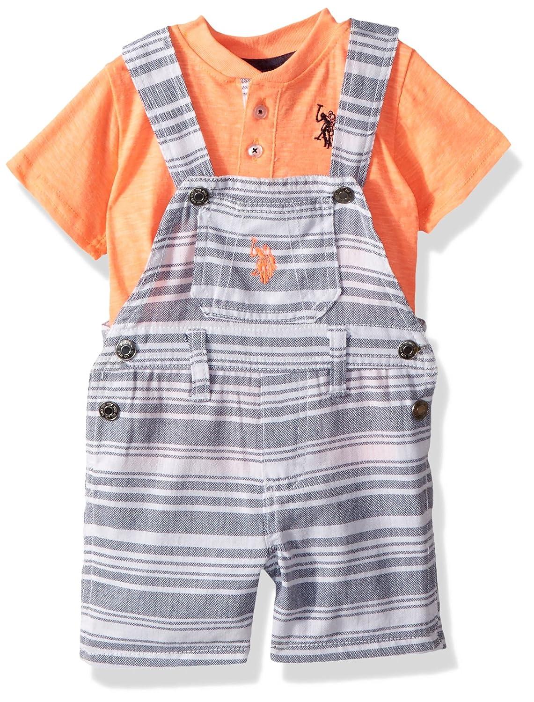 Polo Assn Baby Boys T-Shirt and Short Set U.S