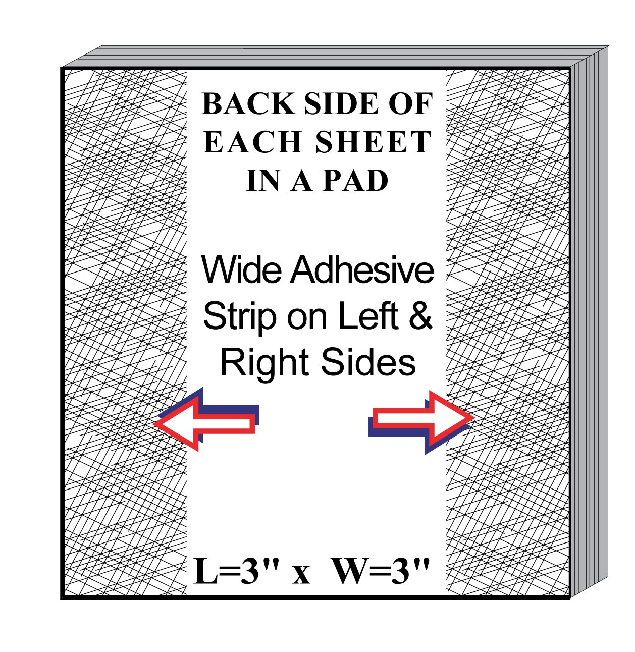 MiniPLOT Graph Paper Pads: 10 pads of 3x3 inch adhesive backed XY axis coordinate grid paper 50 sheets per pad taking notes in class Use for homework Grid = 20 x 20 squares tests /& more
