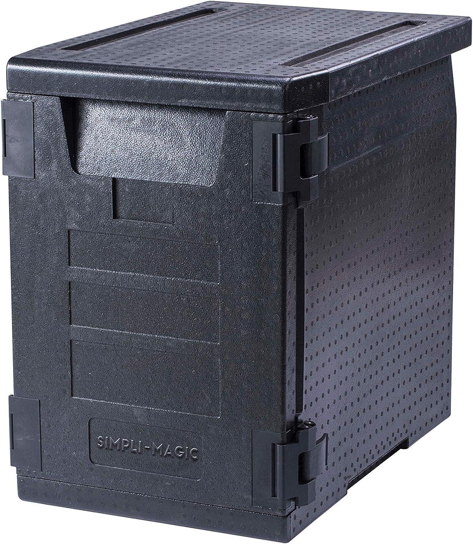 Simpli-Magic 79243 Insulated Carrier, 5 Pan Capacity, Black