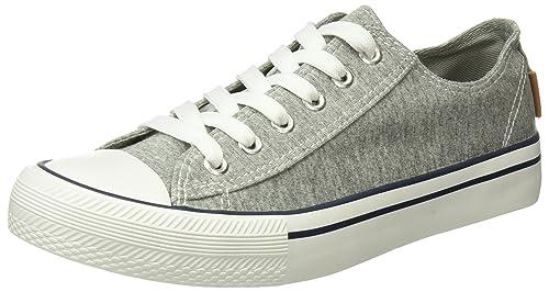 Springfield 5.t.Sneaker Puntera Goma Canvas, Zapatillas para Mujer: Amazon.es: Zapatos y complementos
