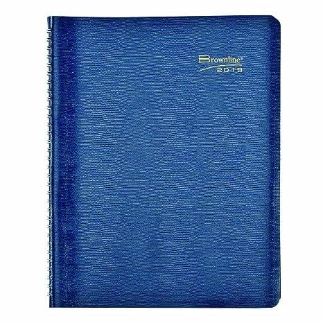 Amazon.com: Brownline 2020 CB100.BLK-20 - Agenda semanal de ...