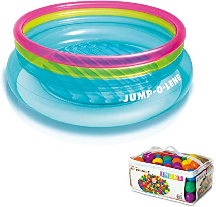 Amazon.com: Intex hinchable Jump-o-lene Bouncer + 100 ...