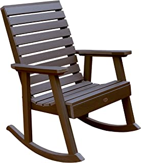 product image for Highwood AD-RKCH2-ACE Weatherly Rocking Chair, Weathered Acorn