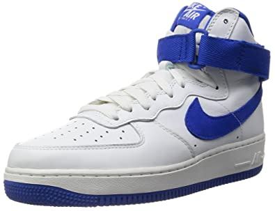 low priced c3675 581a9 Nike - Air Force 1 High Retro - 743546103 - Couleur  Blanc-Bleu -