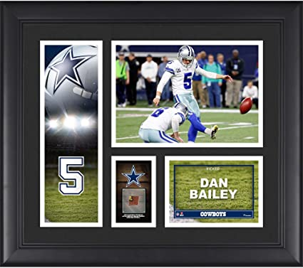 brand new a9bac 290c6 Dan Bailey Dallas Cowboys Framed 15