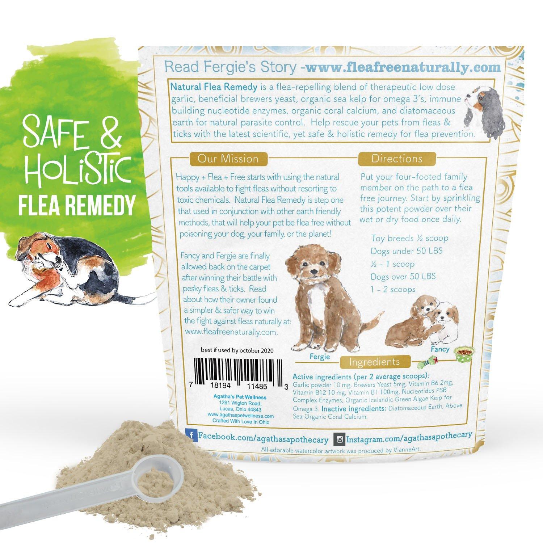 Best Flea Treatment 2020 Amazon.: Agatha's Organic Flea and Tick Prevention Treatment