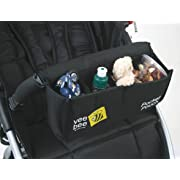 Valco Baby Universal Pocket Pouch Snack Tray, Black