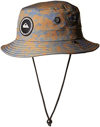 5a3a16f35978d Amazon.com  Quiksilver Men s Stay Cool Bucket Hat  Clothing