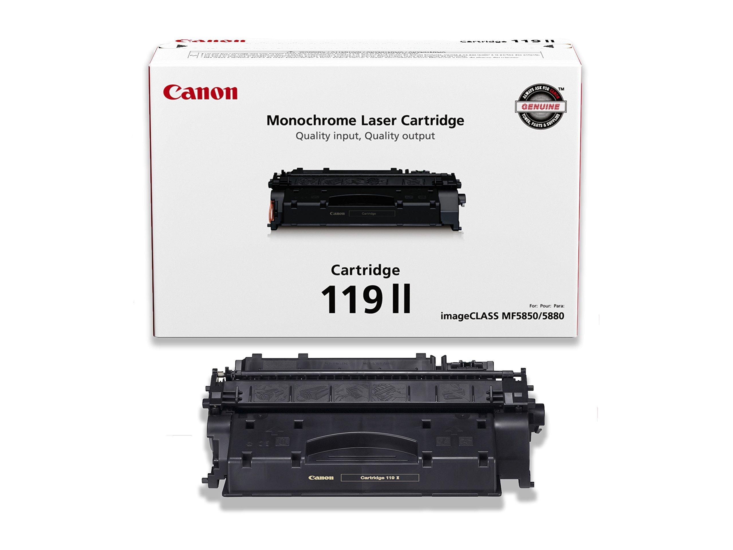 Canon Original 119 II High Capacity Toner Cartridge - Black