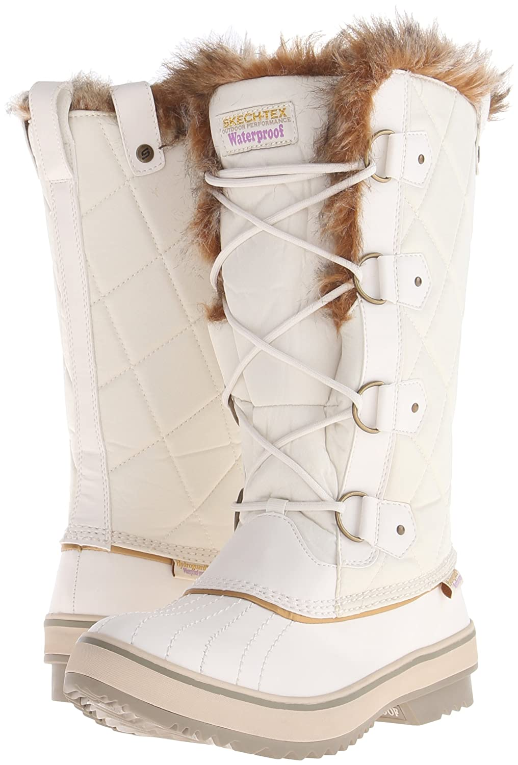 Skechers Women's Highlanders-Tall 6 Quilt Snow Boot B00QFK0SHE 6 Highlanders-Tall M US|Winter White 02d5cb