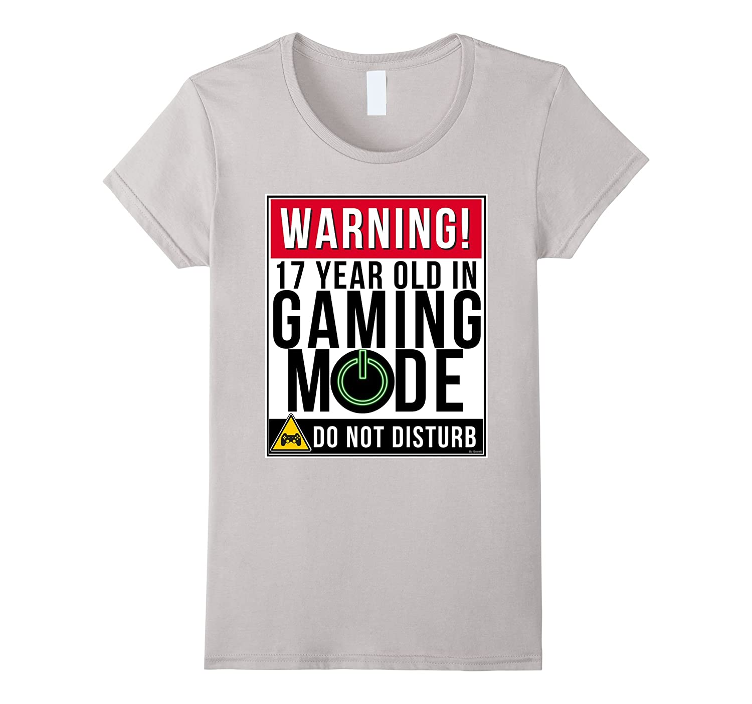 17th Birthday Shirt For 17 Year Old Gamers Tee