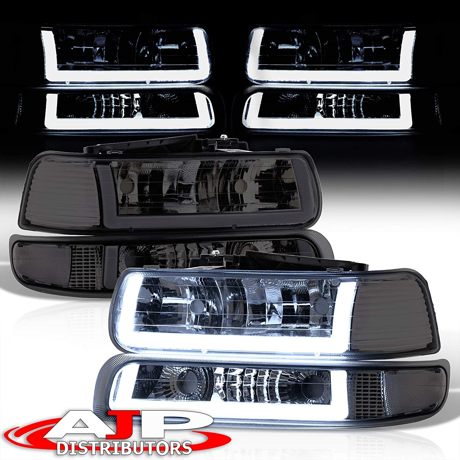 2006 Western Star 6900 SERIES Post mount spotlight LED 6 inch Driver side WITH install kit -Chrome