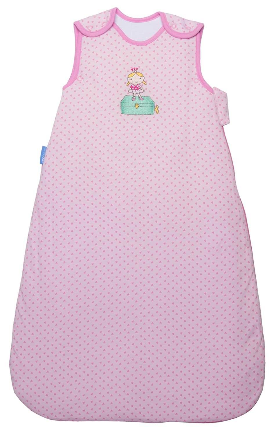Grobag Ballerina Baby Girl Pink Sleeping Bag - 2.5 Tog -Available in Size 6-18 Months - Simply Grobag Range - Clear Packaging 5055653759176