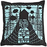 Jtartstore Rob Ryan Cushion My Home 18 x 18 inches