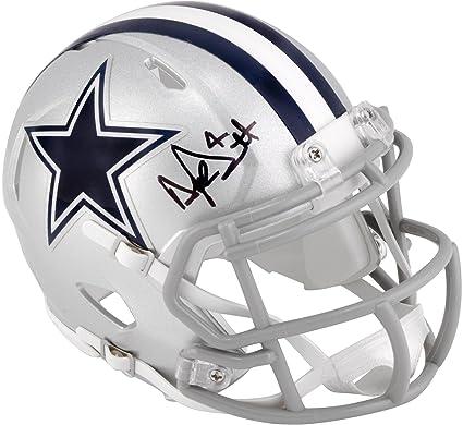 8a7705058a3 Dak Prescott Dallas Cowboys Autographed Riddell Speed Mini Helmet -  Fanatics Authentic Certified - Autographed NFL