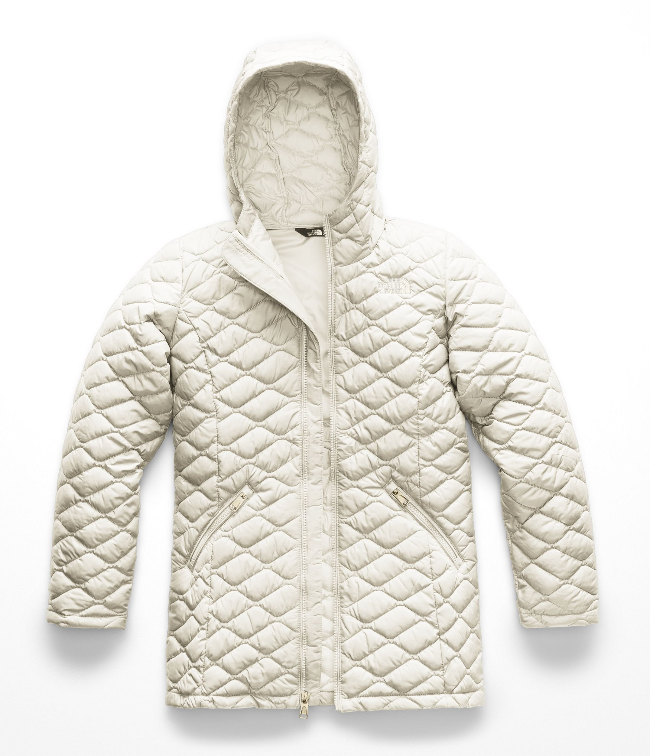 The North Face Kids Girl's Thermoball¿ Parka (Little Kids/Big Kids) Vintage White Small