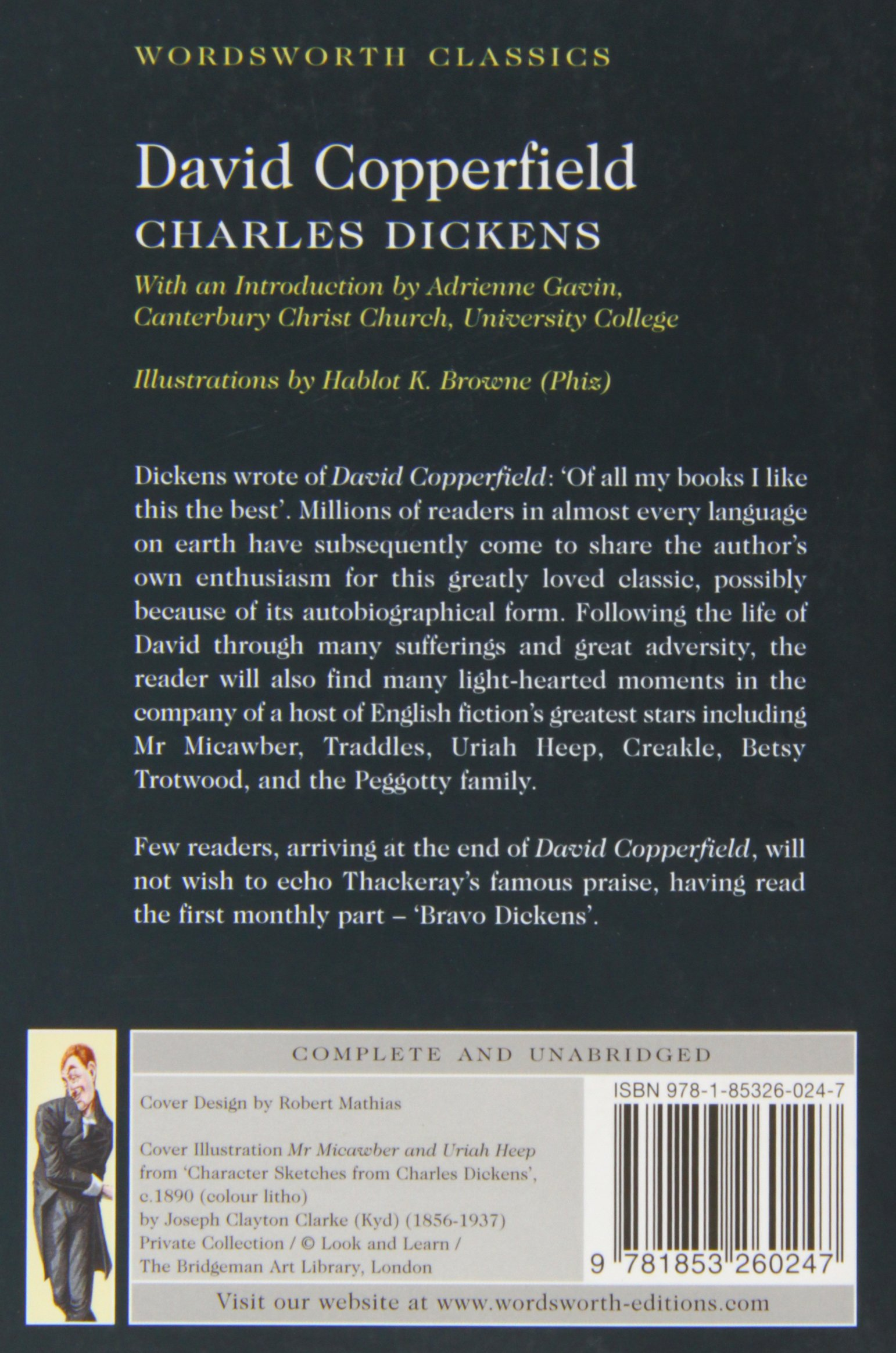 david copperfield wordsworth classics charles dickens david copperfield wordsworth classics charles dickens 9781853260247 amazon com books