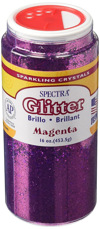 Spectra Glitter, 1 Pound, Magenta Pacon Corp. Home 0091930