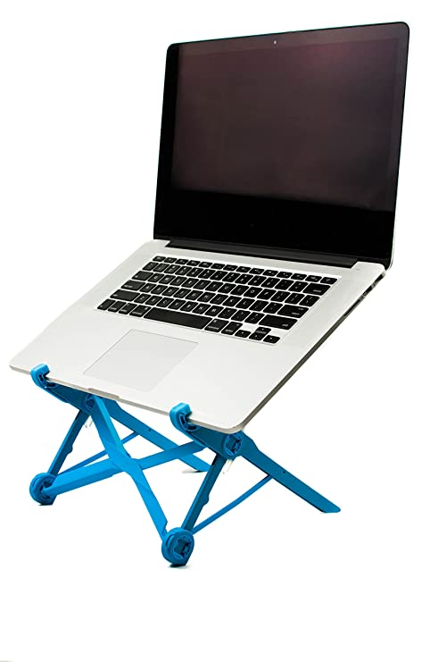 Nomas azul portátil soporte para portátil construido con nailon de fibra de vidrio para Viajes |