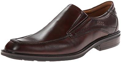 ECCO Men's Windsor Dress Slip-On Loafer, Cocoa Brown Antique, 39 EU/