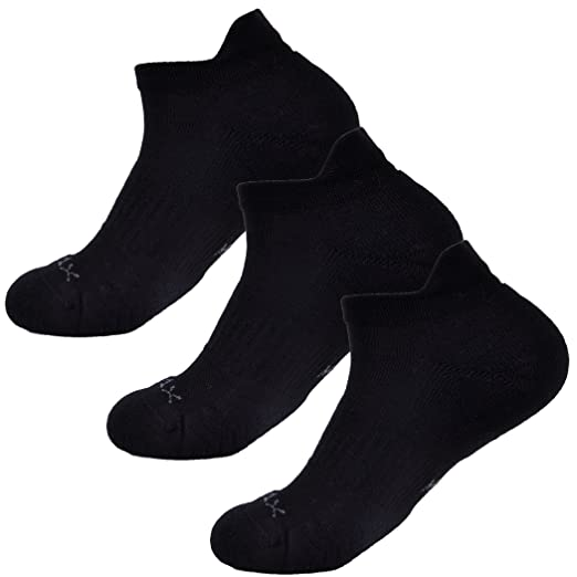 7 Pair Champion Performance Black Crew Socks Soft Stay Dry Zone Cushion 3-9