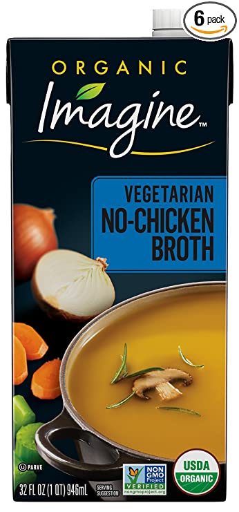 chicken stock and plant baded diet