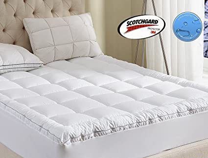 pillowtop bamboo au buy com kogan nw bam topper mattress queen home pillow top q