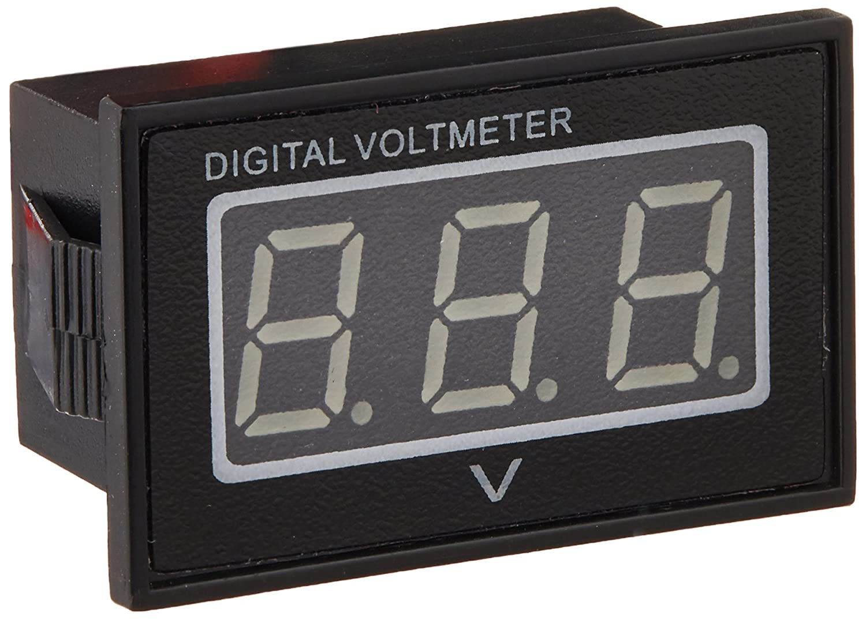 Drok 056 Waterproof Dc 15 120v Digital Voltmeter Voltage Unit 2 53 B2e Electronic Commerce Measurement Gauge Blue Green Led Panel 24v Volt Meters Industrial