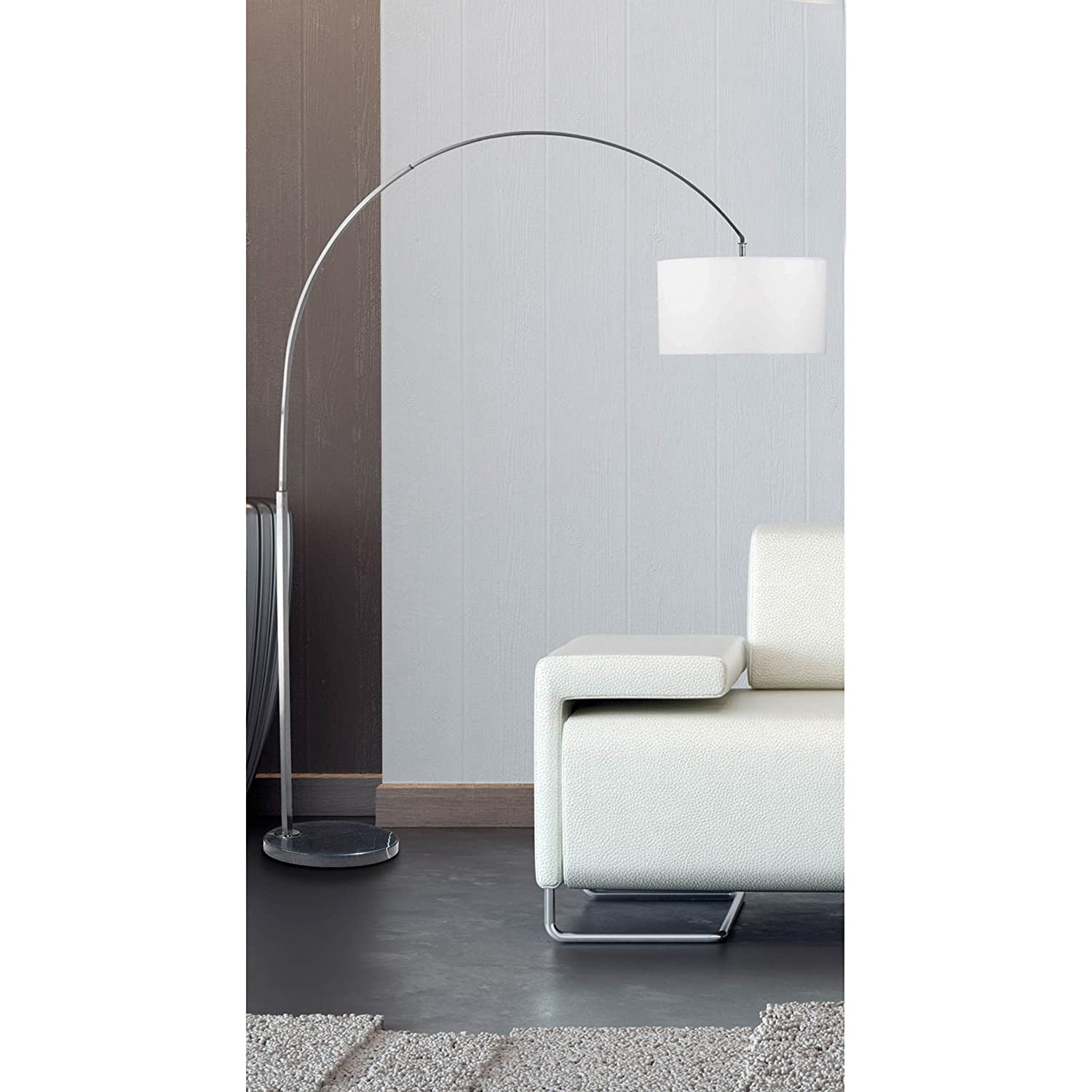 decorating crystal arch lamps from ore white adjustable floor regard contemporary with lamp to inspirational light bright international chrome arc prepare architecture