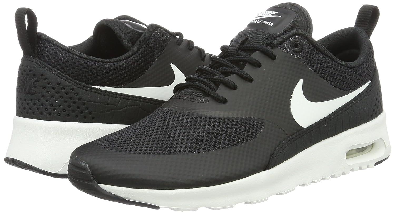 Nike Air Max Thea Wmns Schuhe Damen Sneaker Turnschuhe Schwarz 599409 020, Größenauswahl:38