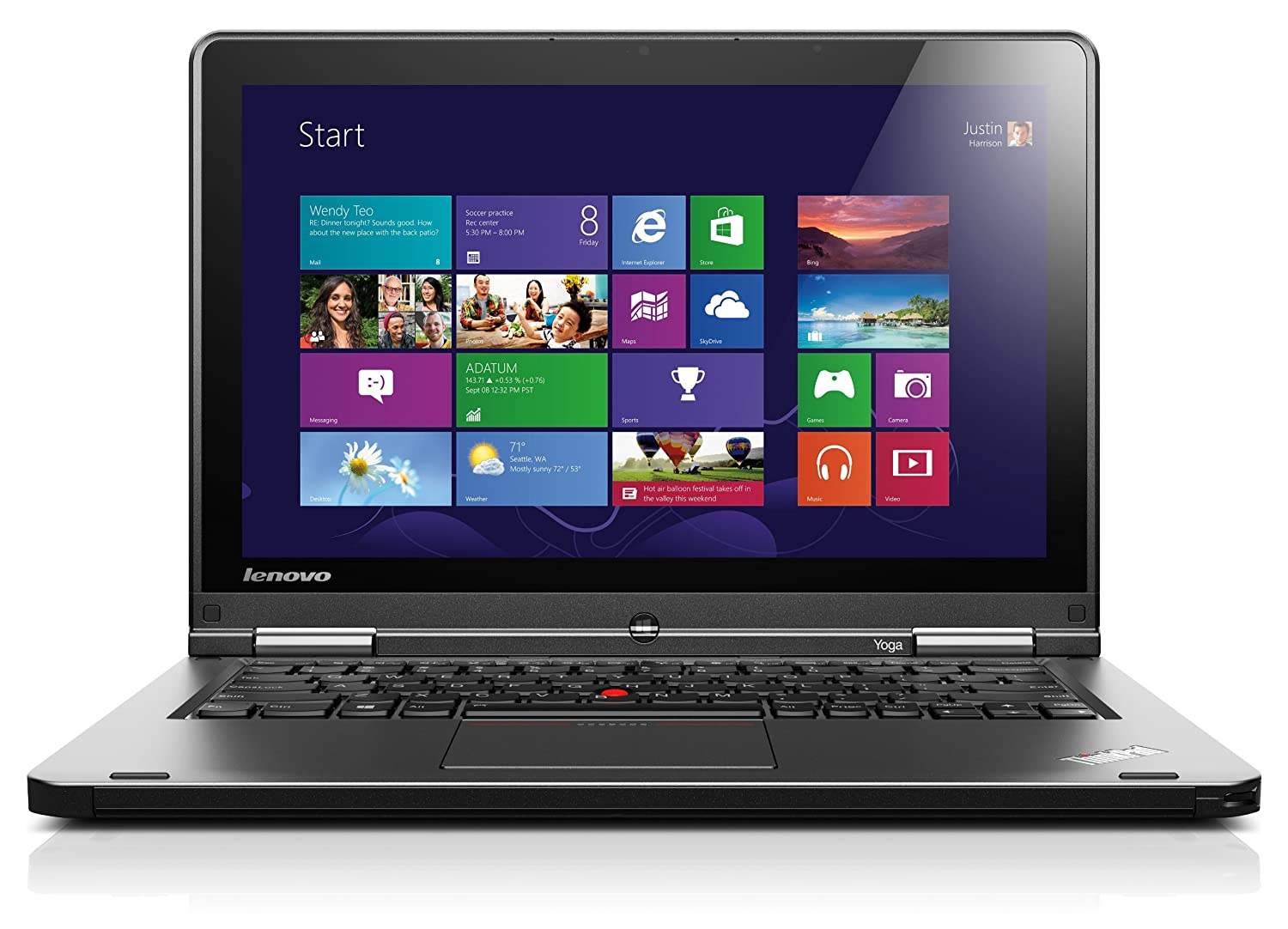 Lenovo reveals new business laptops with hot swap battery feature - Amazon Com Lenovo Thinkpad Yoga 12 5 Inch Convertible 2 In 1 Touchscreen Ultrabook 20cd0032us Computers Accessories