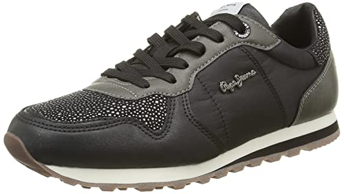 68984768f1cb8 Pepe Jeans PLS30419 - Zapatillas de Deporte de Sintético Mujer ...