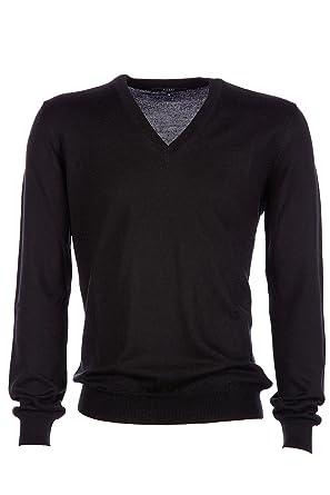 c93a191a7694d Gucci Men s v Neck Jumper Sweater Pullover Black UK Size XL (UK 42) Z6536