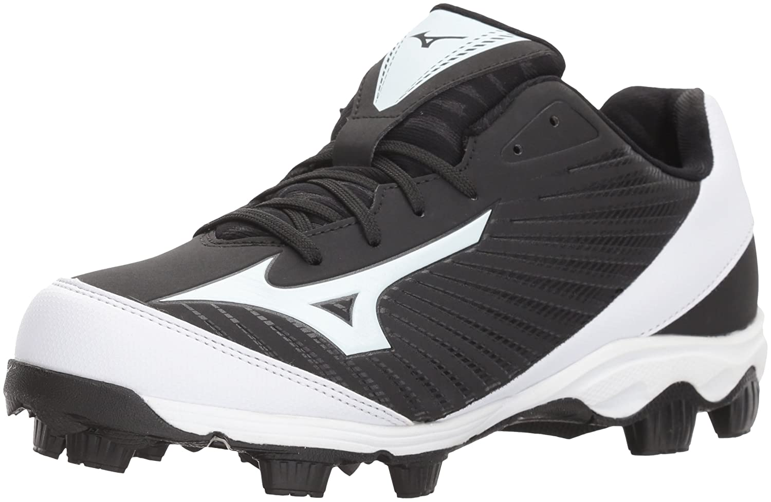 Mizuno (MIZD9) レディース 9-Spike Advanced Finch Franchise 7 Womens Fastpitch Softball Cleat B071G19JYH 9 B US|ブラック/ホワイト ブラック/ホワイト 9 B US