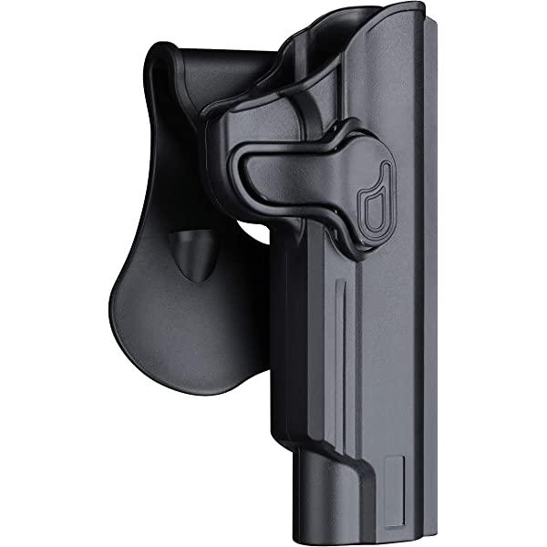 "Colt 1911 OWB Polymer Holsters fit   5/"" barrel Taurus PT1911,,Browning Mark III"