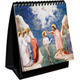 "Sacred Art Series Luminous Mysteries Rosary Flip Book (6"" x 6"") with Desktop Easel"
