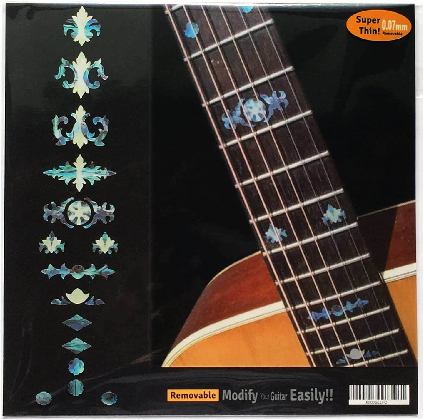 Fretboard Markers Inlay Stickers Decals for Guitar Abalone Mix Tree Of Life