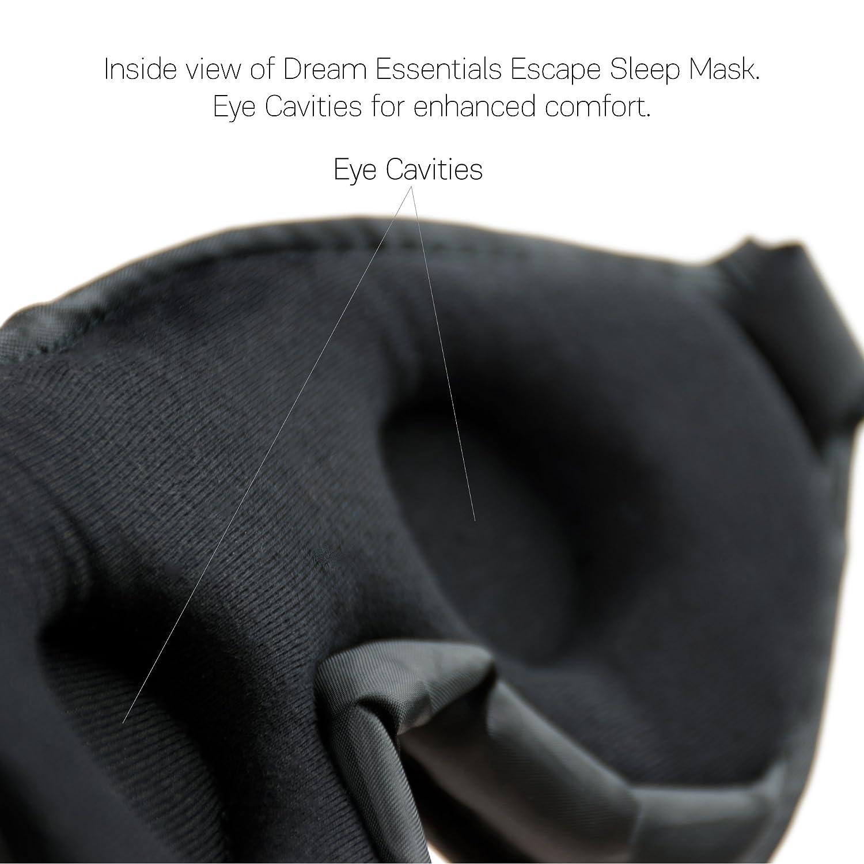 Dream Essentials/® Escape Luxus Schlaf und Reisemaske blau