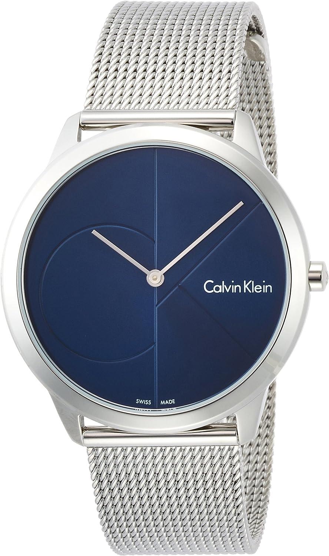 Calvin Klein Reloj Analogico para Hombre de Cuarzo con Correa en Acero Inoxidable K3M2112N