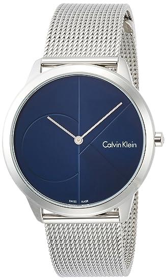 Calvin Klein Reloj Analogico para Hombre de Cuarzo con Correa en Acero Inoxidable K3M2112N: Amazon.es: Relojes
