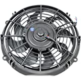 Top Street Performance HC7102 Pro Series 10' Radiator Fan with Computer Balanced Curved Blade