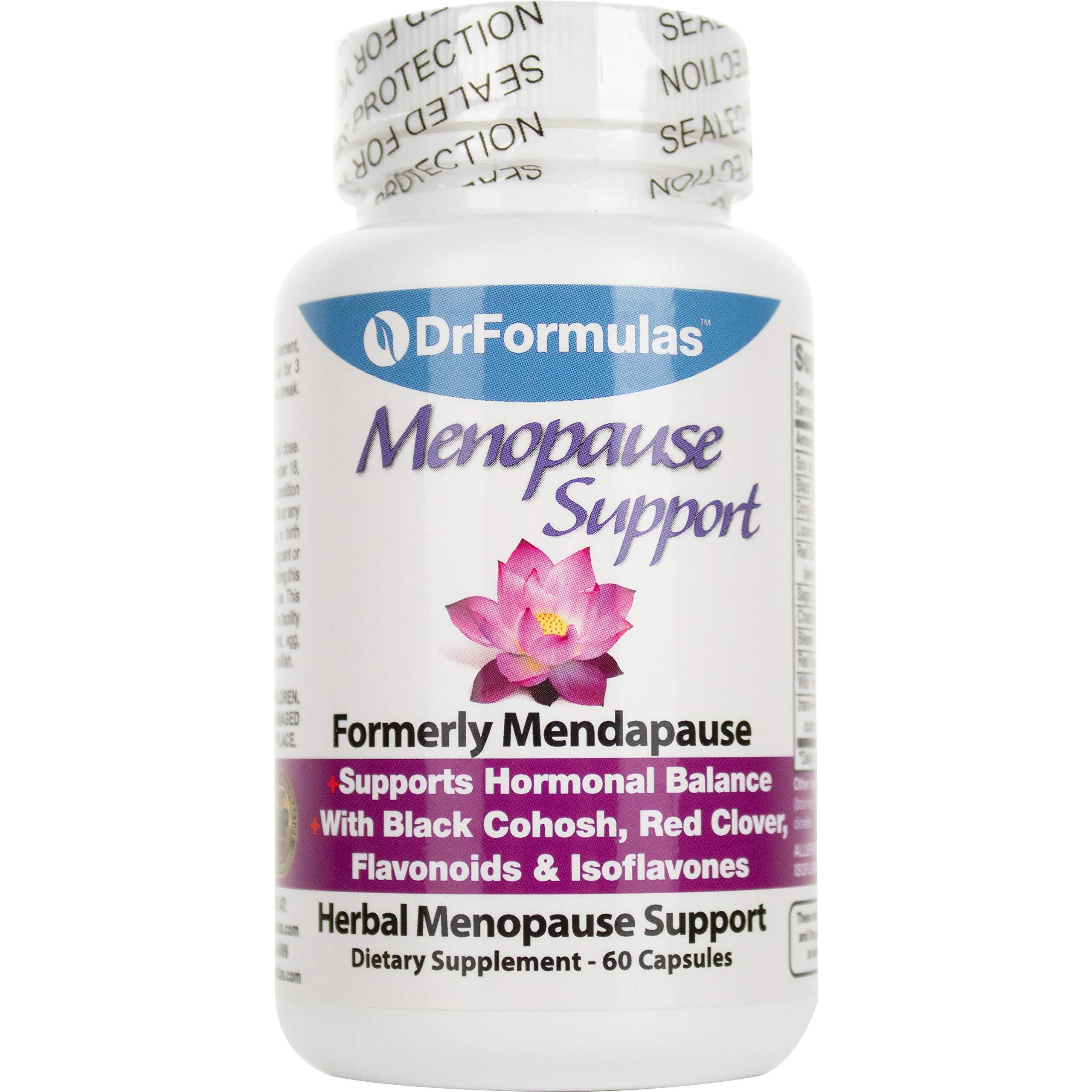 DrFormulas Menopause Supplement, Cream, 60 Count
