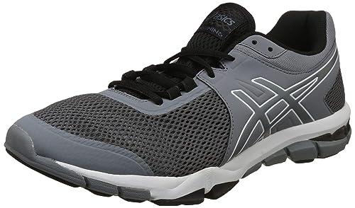 44243bfff0b3 ASICS Men s Gel-Craze TR 5 Stone Grey Black Multisport Training Shoes-10