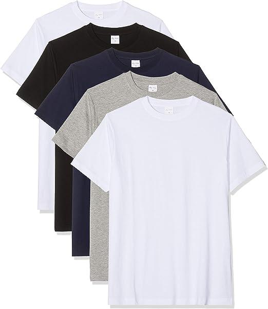 Luigi Bottoni T Shirt Homme: : Vêtements et