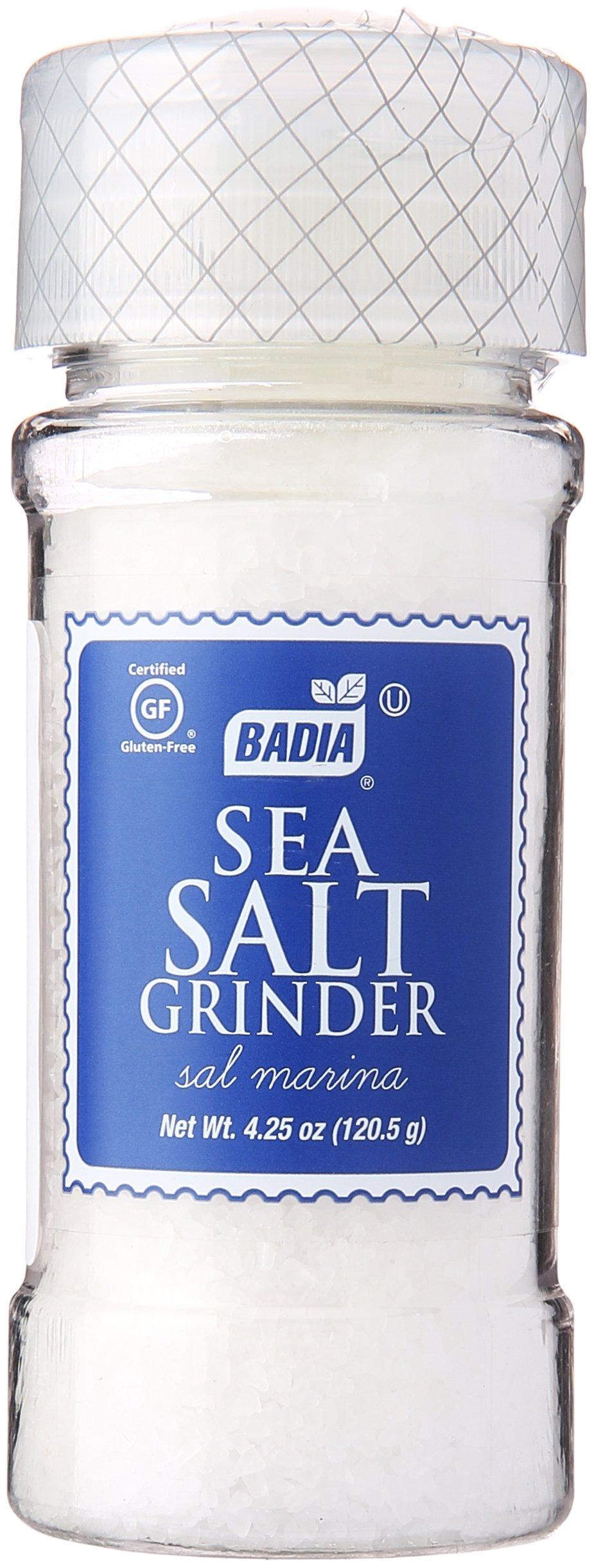Badia Grinder Salt, 4.25 oz