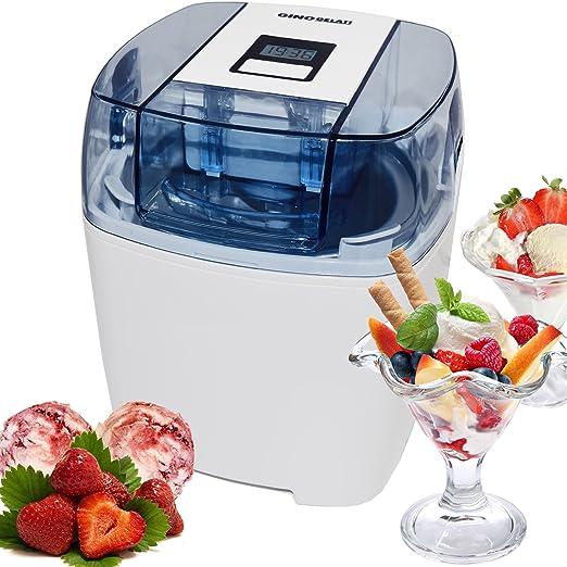 Softeismaschine Eismaschine Frozen Joghurt Maschine 4in1 Blau
