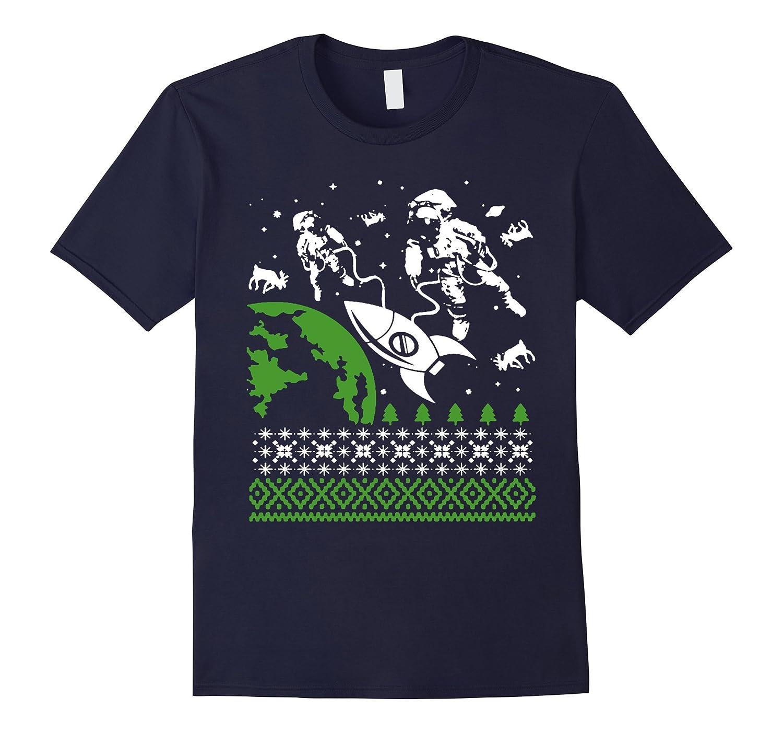Astronauts Christmas Sweatshirt Tshirt-Art